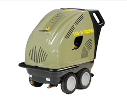 מכונת שטיפה בלחץ מים חמים מרכבה 200/21